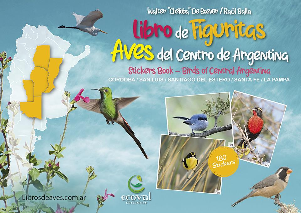 Libro de Figuritas Aves de la Argentina
